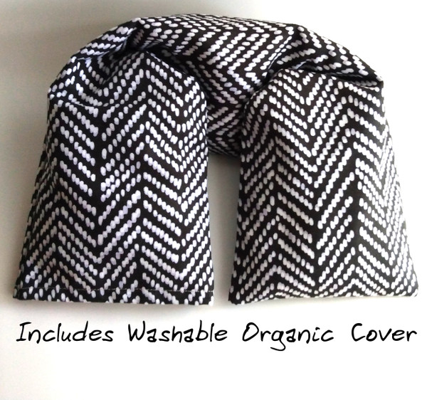 Organic Cotton Canvas cover and flannel organic cotton pillow