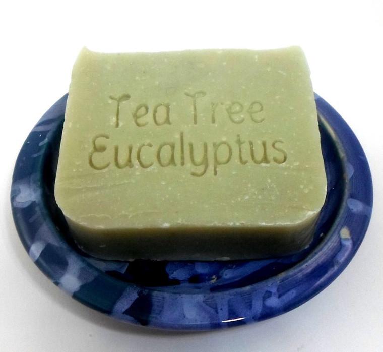 Tea Tree Eucalyptus Shampoo bar by Aquarian Bath