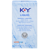 A front side image of a box of the KY Natural Feeling Liquid Personal Lubricant.