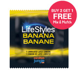 LifeStyles Banana Flavor - Buy 2, Get 1 FREE