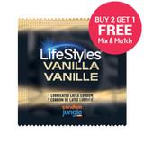 LifeStyles Vanilla Flavor - Buy 2, Get 1 FREE