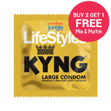 Lifestyles Kyng Large Condoms