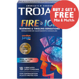 Trojan Fire & Ice Condoms. Buy 2 Get 1 Free.