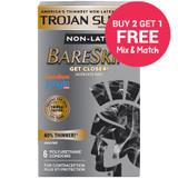 Trojan Supra BareSkin Condoms - Buy 2 Get 1 Free