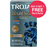 Trojan BareSkin Condoms - Buy 2 Get 1 Free