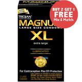 Trojan Magnum XL - Buy 2, Get 1 Free
