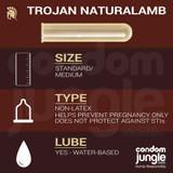 Trojan Naturalamb - Product specification
