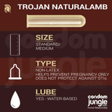 Trojan Naturalamb - Product specification