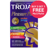 Trojan Pleasure Pack - Buy 2 Get 1 Free
