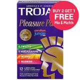Trojan Pleasure Pack - Buy 2 Get 1 Free