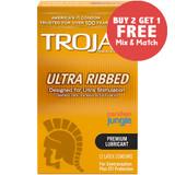 Trojan Ultra Ribbed