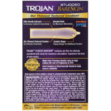 Trojan Studded BareSkin Condoms (back)