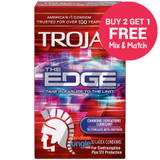 Trojan The Edge Condoms - Buy 2 , Get 1 Free
