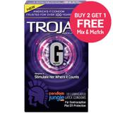 Trojan G Spot Condoms - Buy 2, Get 1 Free