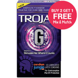 Trojan G Spot Condoms - Buy 2, Get 1 Free
