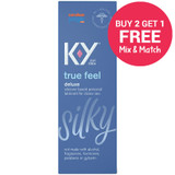 K-Y True Feel Silicone Based Lube (box) - Buy 2, Get 1 Free