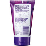 A back side image of a tube of the Astroglide Gel Personal Lubricant.