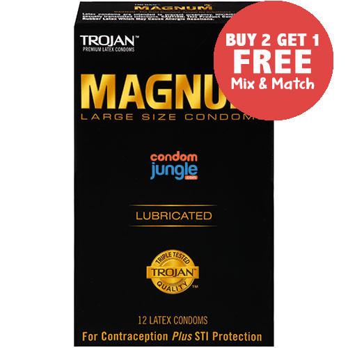 Trojan Magnum Original Condoms - Reviews, Large Size, Classic