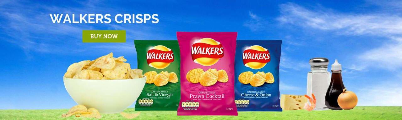 Walkers Crisps Online - British Food Depot