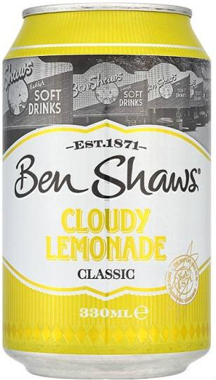 Ben Shaws Cloudy Lemonade 330ml