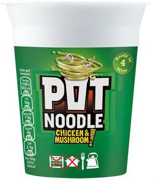 Pot Noodle - Chicken & Mushroom 90g