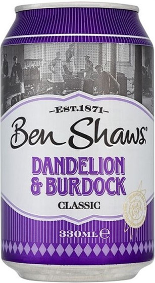 Ben Shaws Dandelion & Burdock 330ml