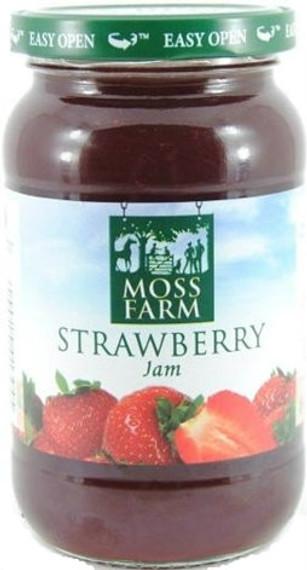 Duerrs Moss Farm Strawberry Jam 454g