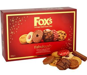 Fox's Fabulously Special Carton 550g