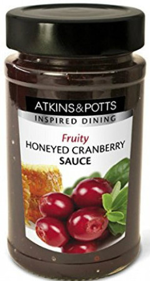 Atkins & Potts Honeyed Cranberry Sauce 250g
