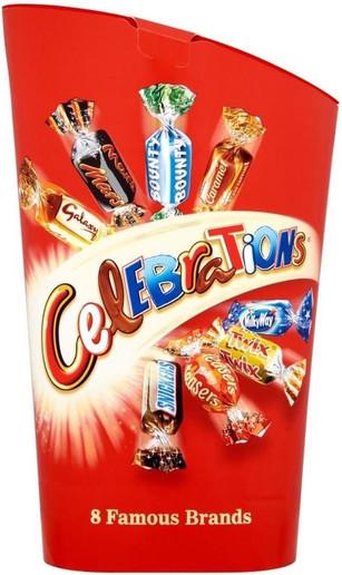Mars Celebrations 240g *BEST BEFORE JUNE 6, 2021*