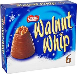 Nestle Walnut Whip 6 Pack 180g