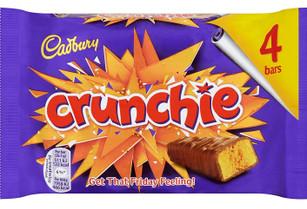 Crunchie Bar - 4 pack 104g