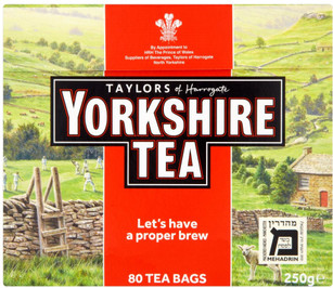 Yorkshire Red Teabags - 80 Pack