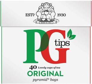 PG Tips 40 Pack