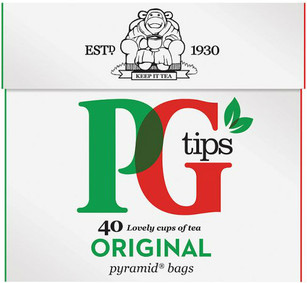 PG Tips 40 Pack