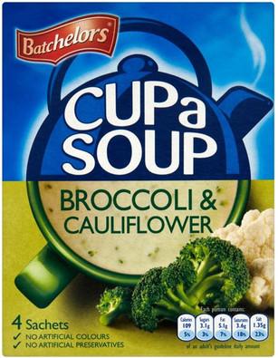 Batchelors Cup a Soup - Cauliflower & Broccoli