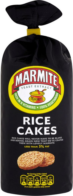 Marmite Large Rice Cakes 110g