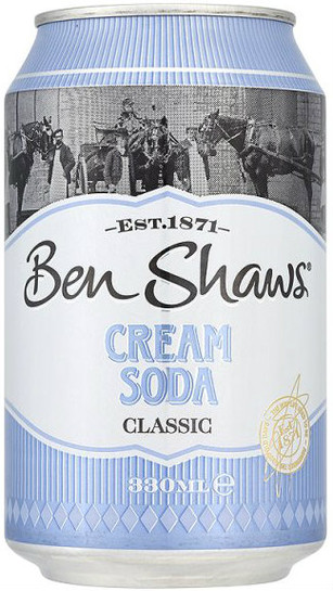 Benshaws Cream Soda 330Ml