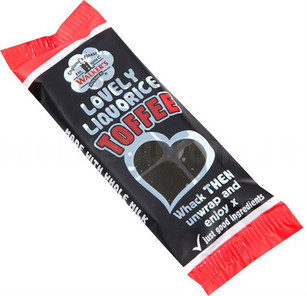 Walkers Non Such Toffee Bar 50g Liquorice