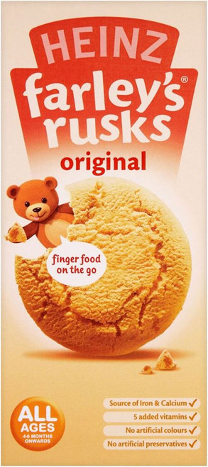 Farleys Rusks Original 9 Pack