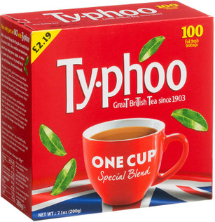Typhoo Tea Bags 100 Pack