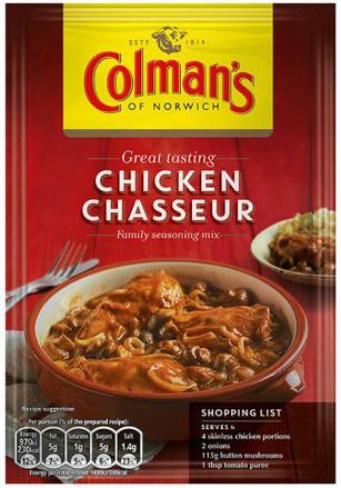 Colmans Chicken Chasseur Mix 45g