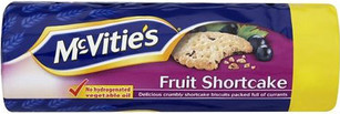 Mc Vities Fruit shortcake 200g