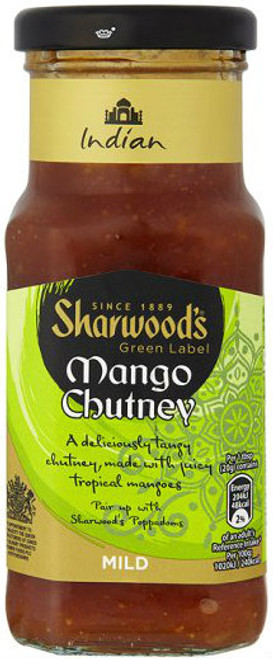 Sharwoods Green Label Mango Chutney 227g