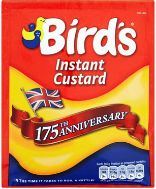 Birds Instant Custard Packet 75g