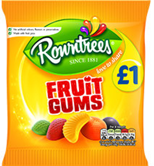 Rowntree Fruit Gums 120g