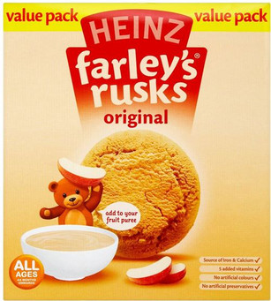 Farleys Rusks Original 150g - Twin Pack
