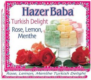 Hazer Baba Assorted Turkish Delight 125g