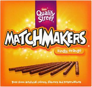 Nestle Matchmakers Orange 120g