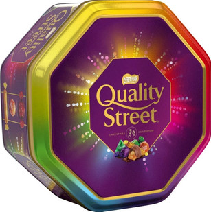 Quality Street Purple Gifting Tin 1Kg